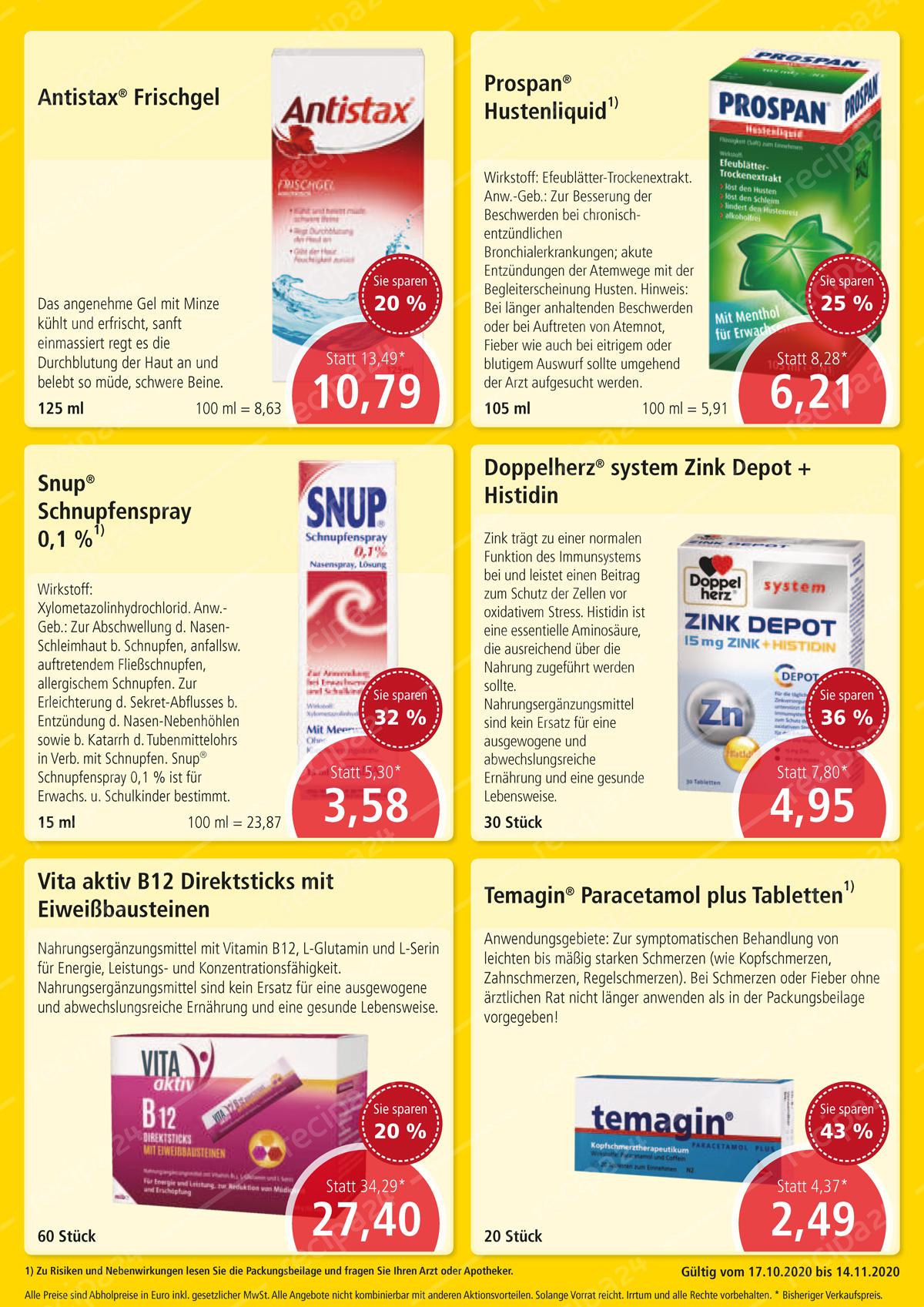 Aktuelle Angebote der Westerwald Apotheke